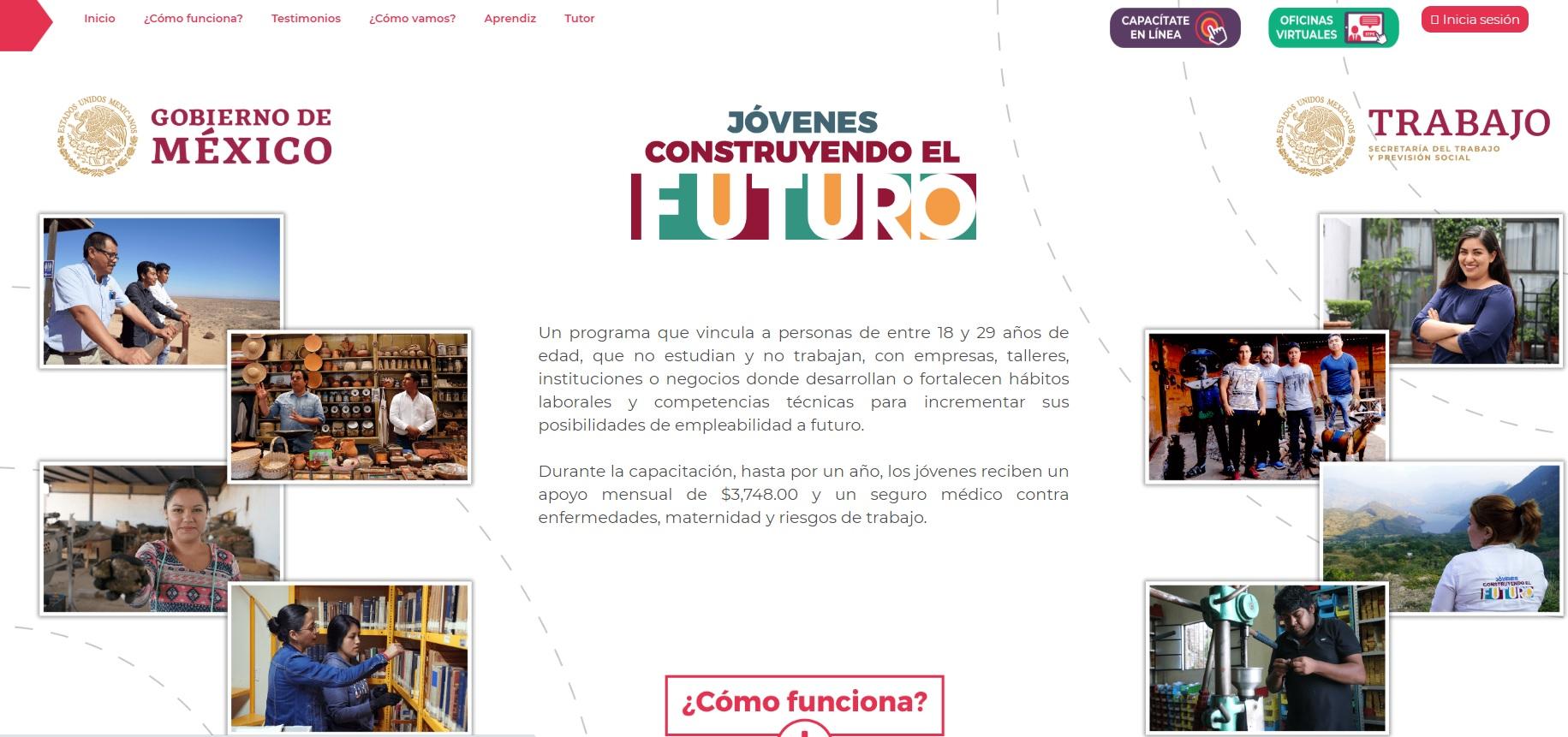 Evaluación del Programa Jóvenes Construyendo el Futuro