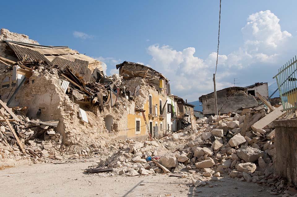 Desastres naturales, terremoto