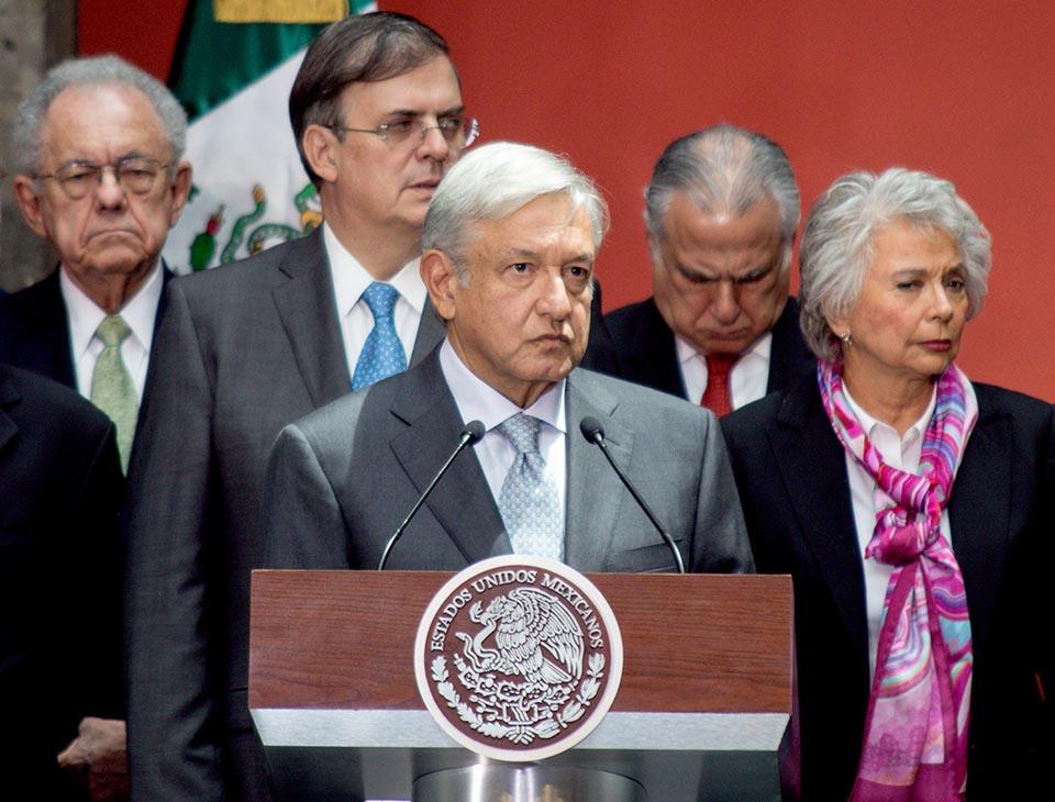 Gabinete México AMLO