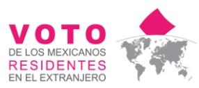 Voto de mexicanos en el exterior