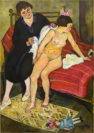 mujer al desnudo