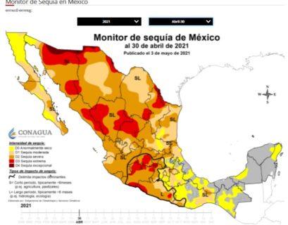 La sequía en México